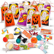 halloween goody bags amazon com halloween trick or treat drawstring goodie bags