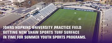 Jhu Campus Map Johns Hopkins University Practice Field Getting New Shaw Sports