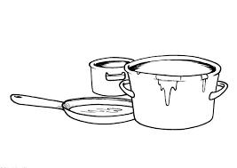 dessin casserole cuisine coloriage pots et casseroles img 8201