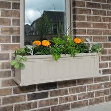 Window Boxes Planters by Mayne Fairfield 11 In X 36 In Plastic Window Box 5822b The