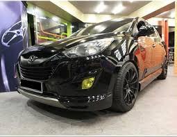hyundai tucson kit sonic auto tucson ix 35 lip aeroparts kit no 0442 buy