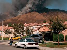 California Wildfire Database by Arcnews Winter 2003 2004 Issue Gis Helps Response To Southern