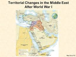 middle east map changes chapter 27 the crisis of the imperial order ppt