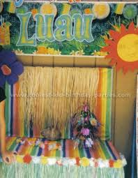 luau decorations coolest hawaiian luau party ideas