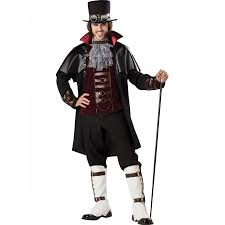 steampunk victorian vampire costume for men gothic steampunk