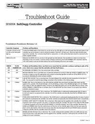 saltdogg controller 3016934 troubleshoot guide 92441ssa