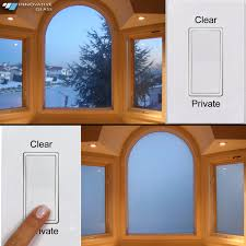 high tech alternative to blinds electronic lc privacy glass