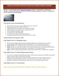 pre med resume sample collection of solutions orthopedic physician assistant sample collection of solutions orthopedic physician assistant sample resume for resume sample