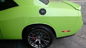 dodge challenger fuel billet fuel door fits 2015 challenger dodge challenger