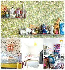 Retro Nursery Decor Vintage Nursery Wallpaper Vintage Folklore Nursery Baby