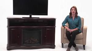 pleasant hearth merrill electric fireplace youtube