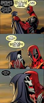 Funny Deadpool Memes - deadpool and death
