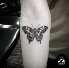 28 beautiful black and grey butterfly tattoos skin