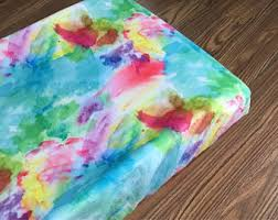Rainbow Comforter Set Rainbow Bedding Etsy