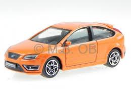 model ford focus ford focus st 3 door orange diecast model car 30159 bburago 1 43