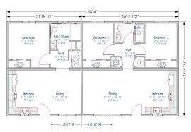 granny unit plans 1 bedroom ansi unit 2 bedroom unit jpg 1 202 834 pixels duplex