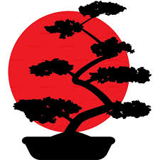 image of bonsai tree clipart 5086 clipart bonsa flag free vector