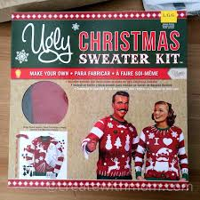 create with cozy sleepwear and sweater kit