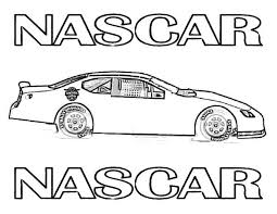 nascar coloring pages 224 coloring