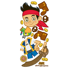 jake and the never land pirates jake giant wall sticker stickers neverland pirates wall stickers