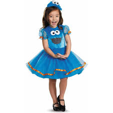 Halloween Monster Costumes by Sesame Street Cookie Monster Tutu Deluxe Toddler Halloween Costume