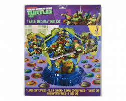 tmnt wrapping paper mutant turtles table decoration kit shop american