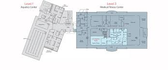 Fitness Center Floor Plans Medical Fitness Wellness Center Nexcore Group