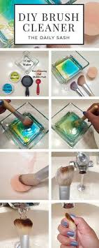 makeup brush diy cleaner more