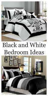 black and white bedroom ideas the home and garden cafe