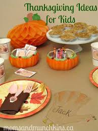 thanksgiving ideas for munchkins