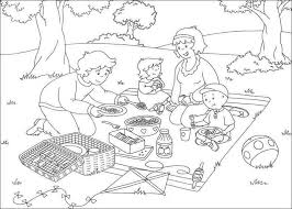 caillou coloring pages coloringeast