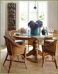 Pottery Barn Jute Rugs Round Jute Rug Foyer With Wooden Pedestal Table And Round Jute