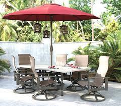 Patio Furniture Set With Umbrella Unique Design Outdoor Patio Furniture Umbrellas Of Patio Table Set