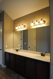 Lights For Mirrors In Bathroom Bathroom Light Placement Mirror Contemporary Decor