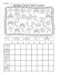spring graph worksheet crafts and worksheets for preschool