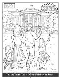this coloring book features ted cruz fighting a giant snake named