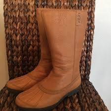 ugg s belfair boots 42 ugg shoes ugg belfair lined waterproof chestnut boots