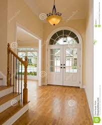 luxury home foyer and staircase stock image image 8892271