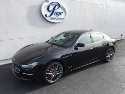 maserati sedan 2018 maserati of richmond new car inventory page