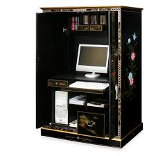 Computer Armoire With Pocket Doors Computer Armoire Archives Draincare Us