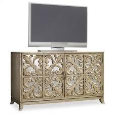 Hooker Credenza Hooker Furniture Melange Metallic Fleur De Lis Mirrored Credenza