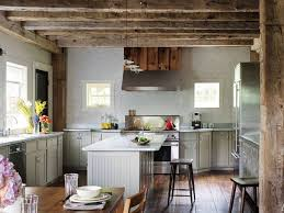 blue kitchen cabinets in cabin 29 rustic kitchen ideas you ll want to copy architectural