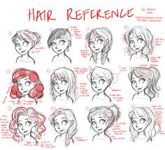 hair tutorial reference only by lightjames deviantart com on