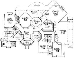 mediterranean mansion floor plans mediterranean home floor plans