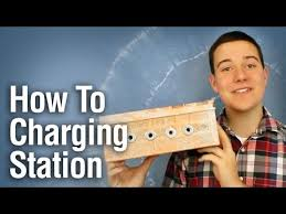 Diy Charging Stations How To Make A Diy Charging Station Youtube