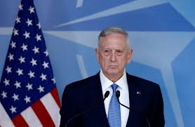 us defence secretary james mattis heads to middle east to discuss