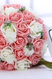 wedding flowers pink wedding bouquets bridal bouquet reception centerpieces luulla