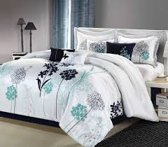 Gray And Turquoise Bedding 20 Ways To Gray And White Comforter