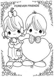 valentines coloring pages loved precious moments coloring