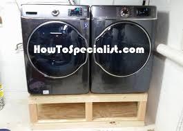 Build Washer Dryer Pedestal Diy Washer Dryer Pedestal Howtospecialist How To Build Step